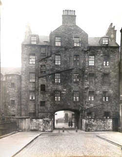 Buccleuch St, rear view from St Patrick Square