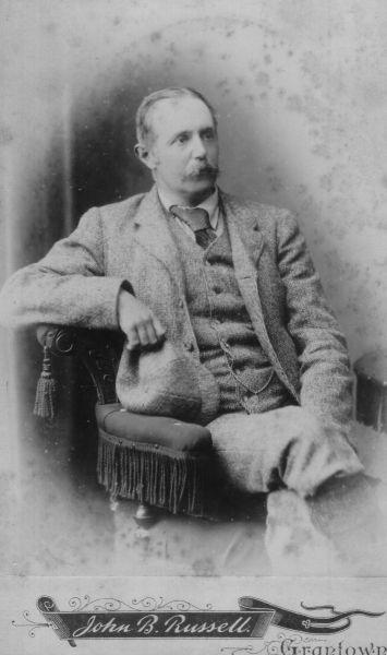 Studio Portrait Victorian Gentleman, September 1889