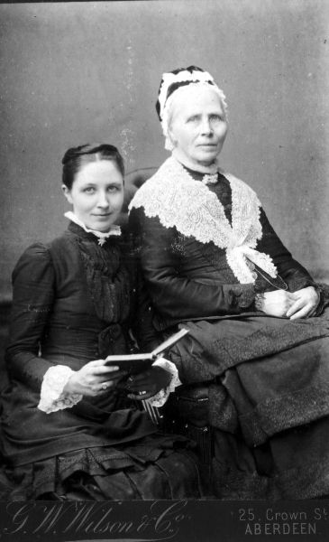 Studio Portrait Two Victorian Women c.1880