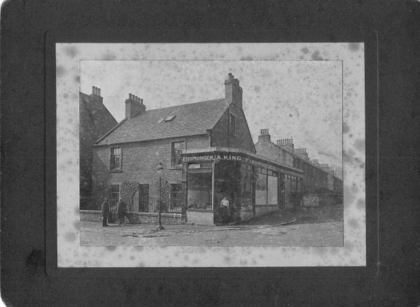 """Denholm Cottage"", Blackhall c.1904"