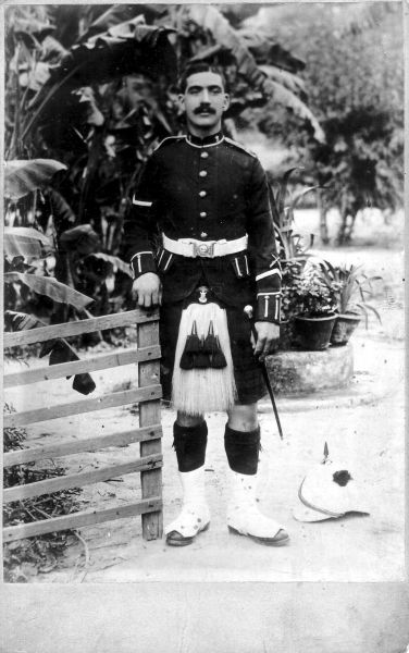 Soldier Of The Black Watch 1902