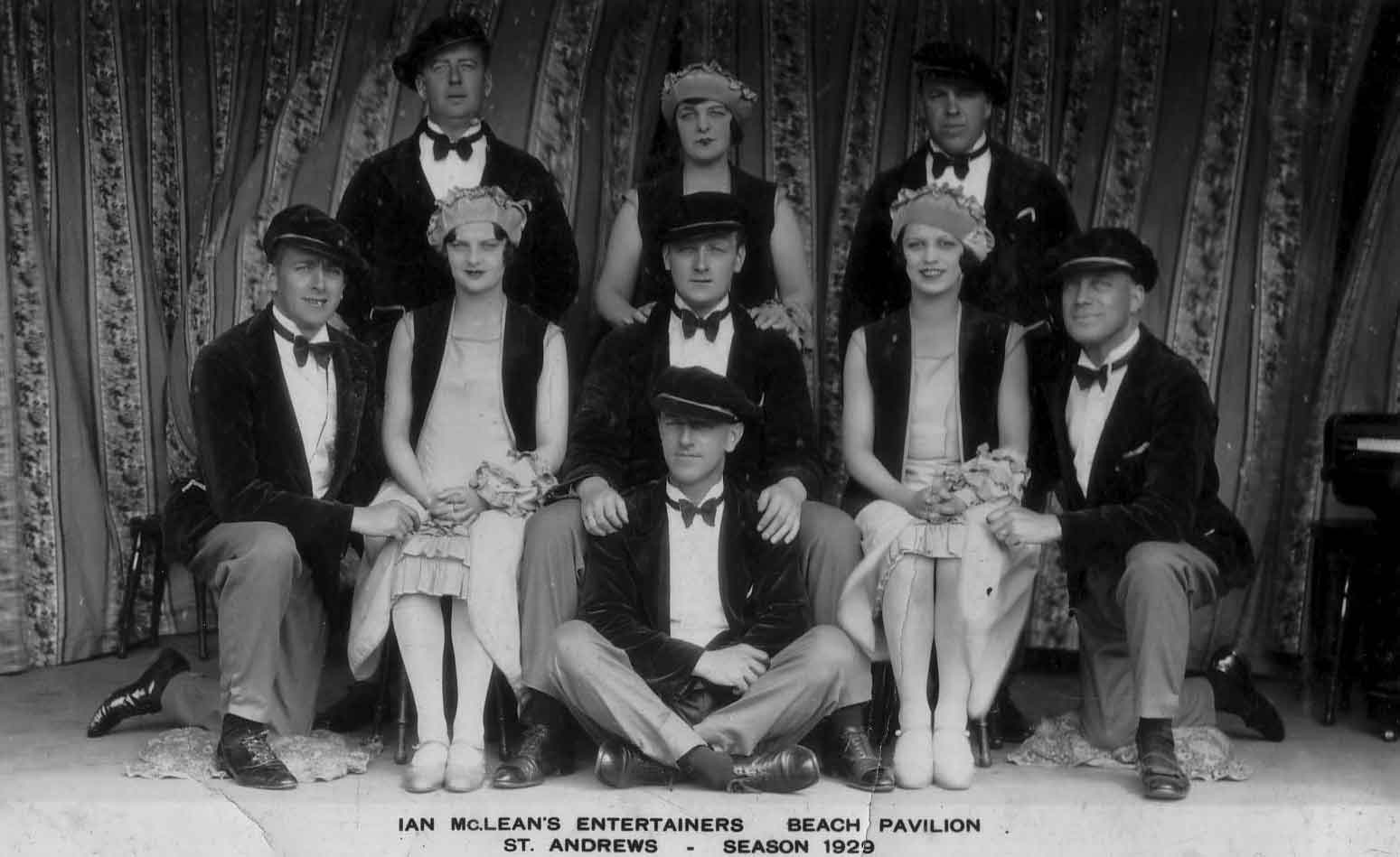 Publicity Shot Of The Ian McLean Entertainers 1929