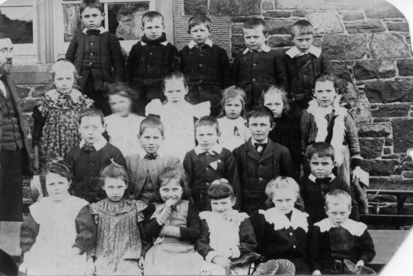 Unidentified School Class Portrait c.1901
