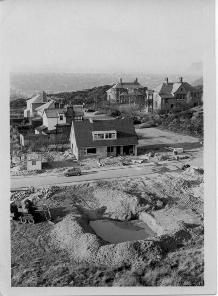 Housebuilding On Bramdean Rise1962