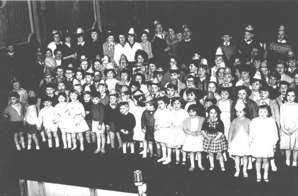 Free Gardeners Children's Party In Hall At Picardy Place c.1962