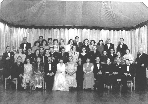 North British Rubber Company Staff Dance c.1950