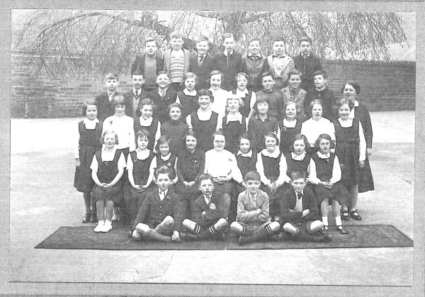 London Street Primary School Class Portrait, mid-1930s