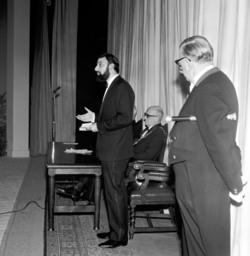 Inauguration of the Church Hill Theatre, 1965