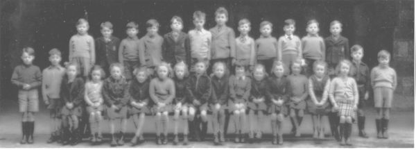 St Mary's RC School Class Portrait c.1955