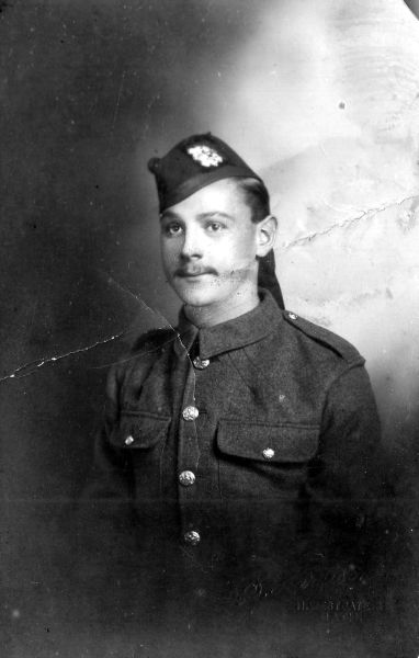 Studio Portrait Soldier c.1915