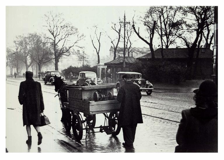 Knife-grinder's cart, Bruntsfield