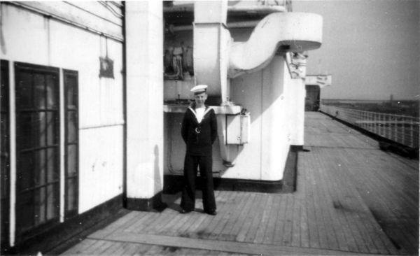 'Boy Seaman' On Board Ship At HMS Caledonia 1937