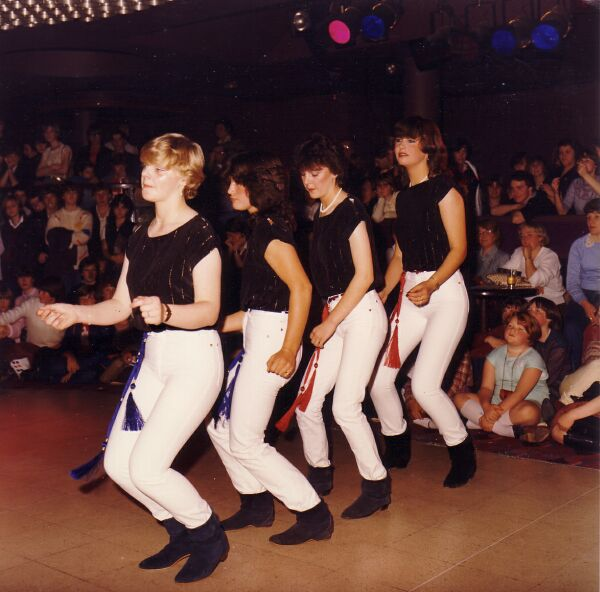 Gracemount Community Centre Dance Group, early 1980s
