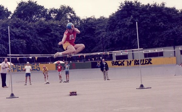 Skateboarding Competition, early 1980s