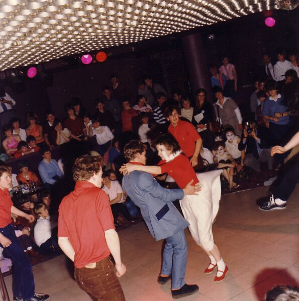 Rock 'n' Roll Dancing Competition, early 1980s