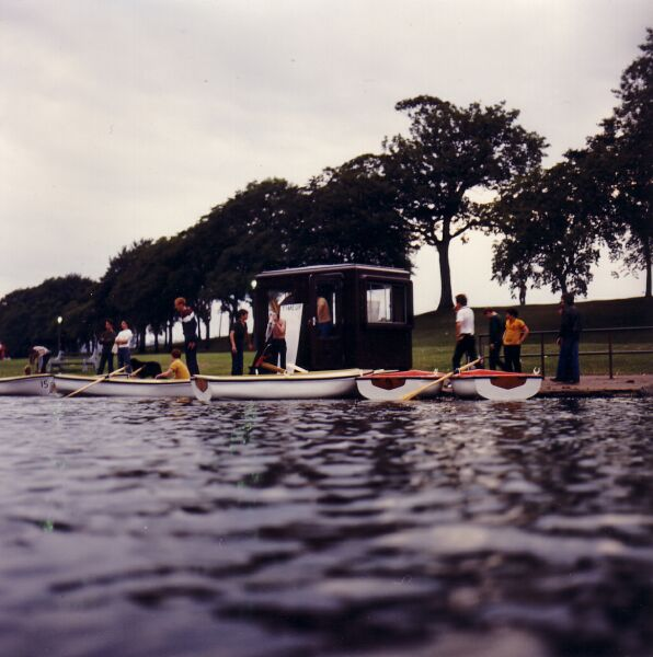 Rowing Boats For Hire On St Margaret's Loch 1970s