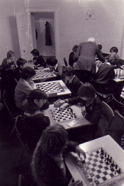 Gracemount Community Centre Chess Club 1970s