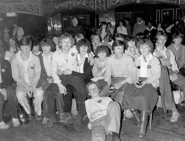 Teenagers From Gracemount Community Centre On Evening Out 1970s