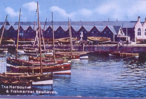 Pilot Boats In Newhaven Harbour 1930s