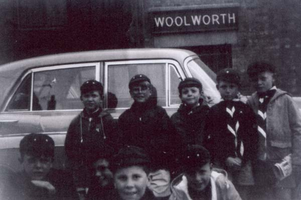 Members Of 3rd Leith Cubs Setting Off To Camp Oustide Laurie Street, Summer 1963