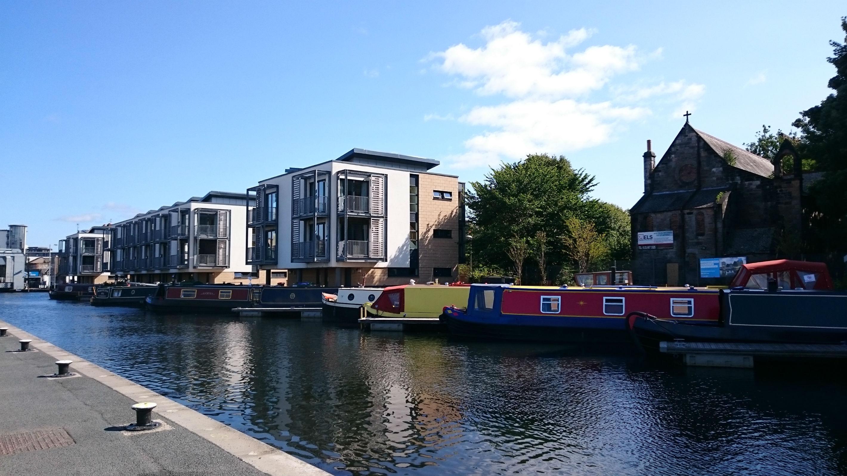 Canal Basin, Fountainbridge