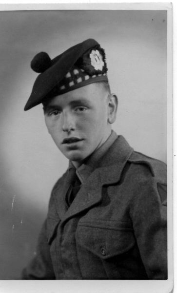 Studio Portrait Young Soldier, May 1953