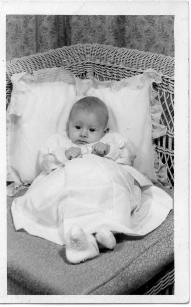 Studio Portrait Baby c.1960