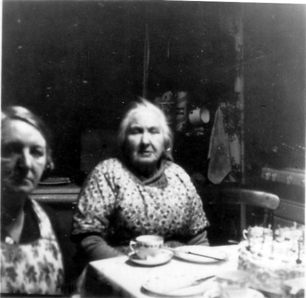 Woman Celebrating Eightieth Birthday At Home, 27 Nov 1947