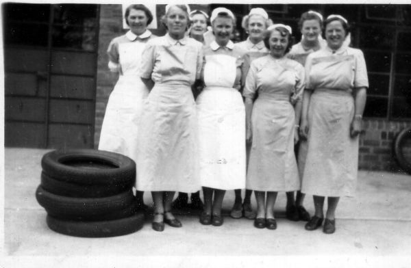 Staff Of Fords Road Nursery At Stenhouse, September 1955