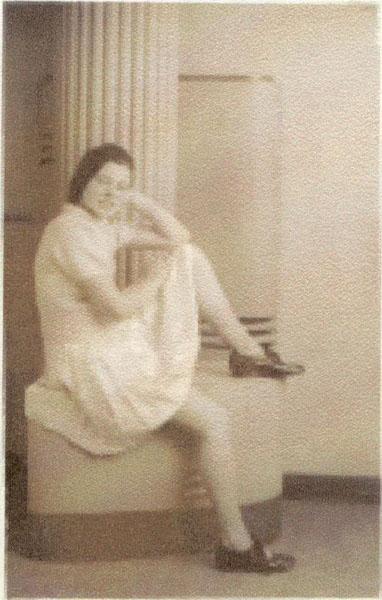 Studio Portrait Young Dancer c.1934