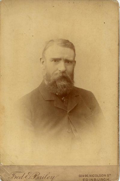 Studio Portrait Ironmonger 1890s