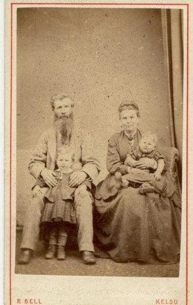 Studio Family Portrait c.1870