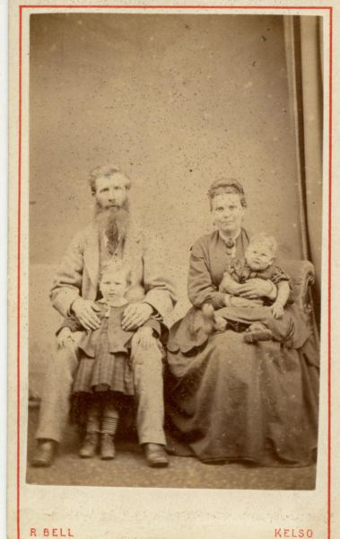 Studio Family Portrait c.1870