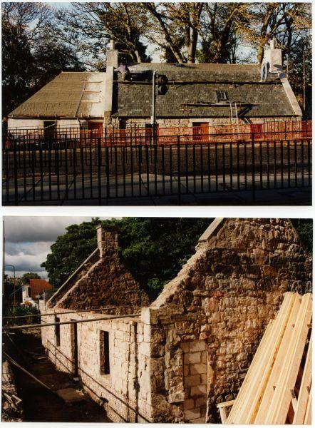Restoration Work At MacKenzie Cottage, Colinton Village, 3 March 1997