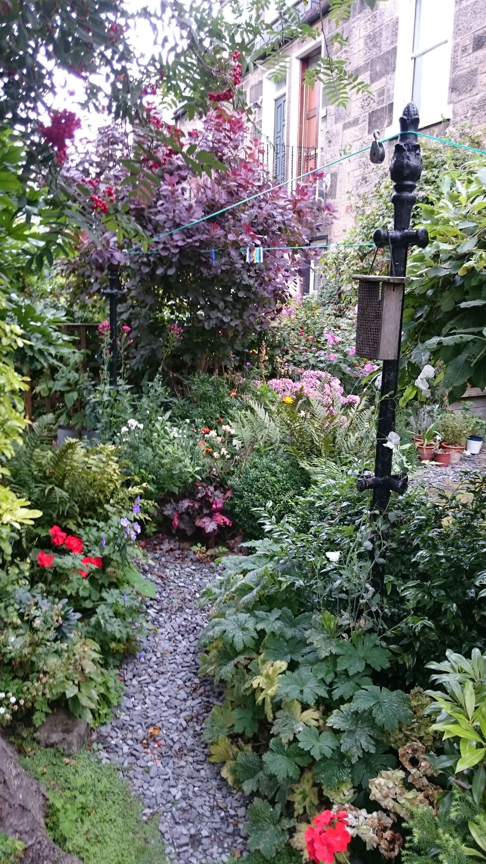 Garden in Abbeyhill