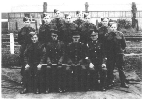 Officers And Soldiers Of 312th Field Battery, 129th (Lowland) Field Regiment, Royal Artillery 1939