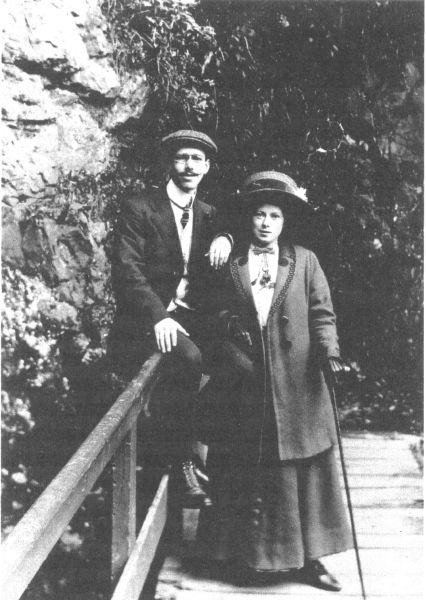 Courting Couple c.1910