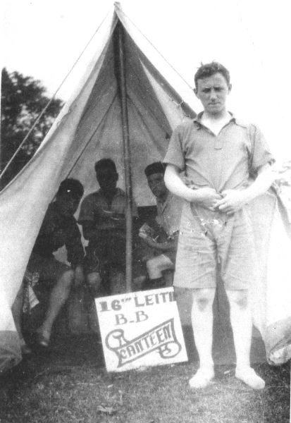 16th Leith Boys Brigade On Camp, early 1930s