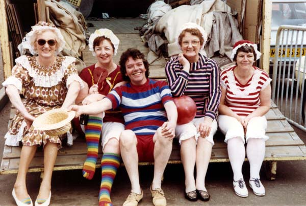 Participants In The Portobello Victorian Splash 1984