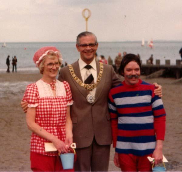 Lord Provost With Participants Of The Portobello Victorian Splash, May 1979