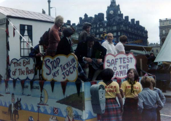 Portobello Float At The Edinburgh Festival Cavalcade, August 1980