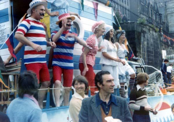 Portobello Float At The Edinburgh Festival Cavalcade, August 1979
