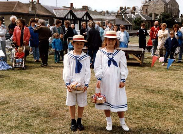 Portobello Victorian Splash Fancy Dress Prize Winners 1989