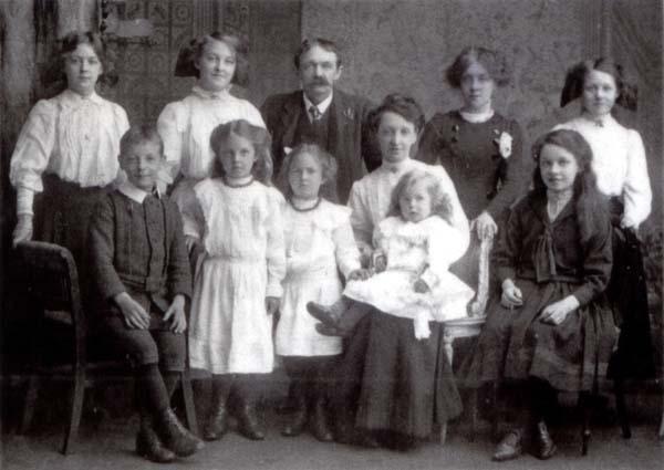 Studio Family Portrait c.1910