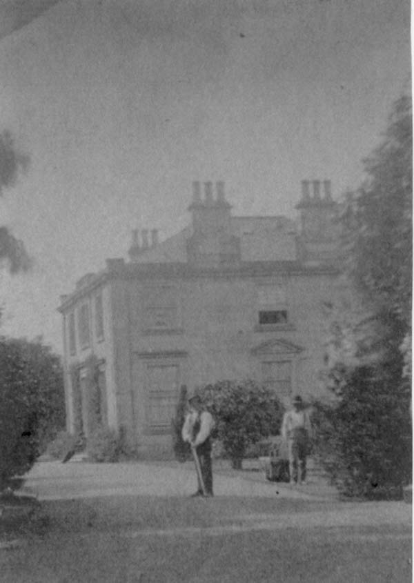 Gardeners Working At South Bantaskine House c.1890