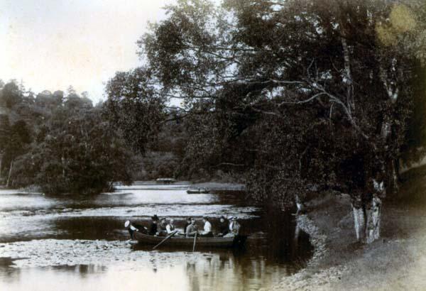 Victorian Boat Trip On Loch 1890s