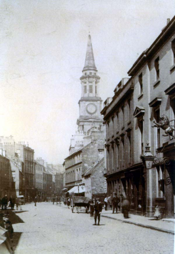 The High Street, Falkirk c.1900