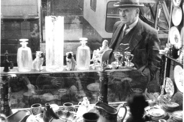 Shop Window Looking Out On To Rose Street, Dec 1957