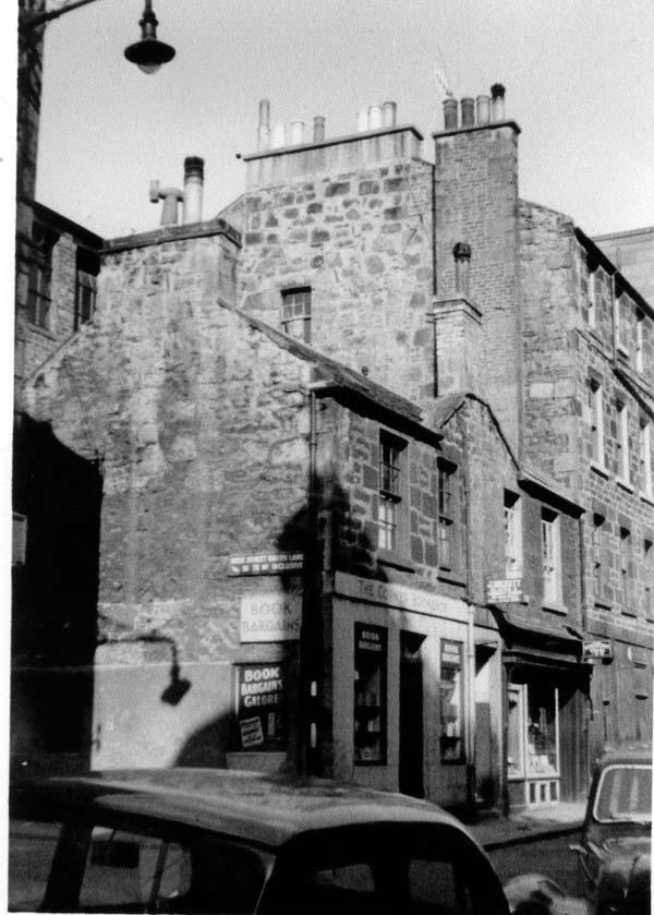 Corner Bookshop On Rose Street And Rose Street South Lane, Dec 1957