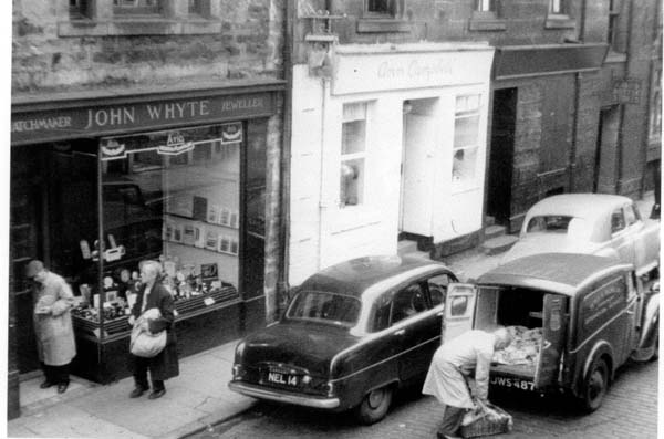 Rose Street Shops And Trade, Dec 1957